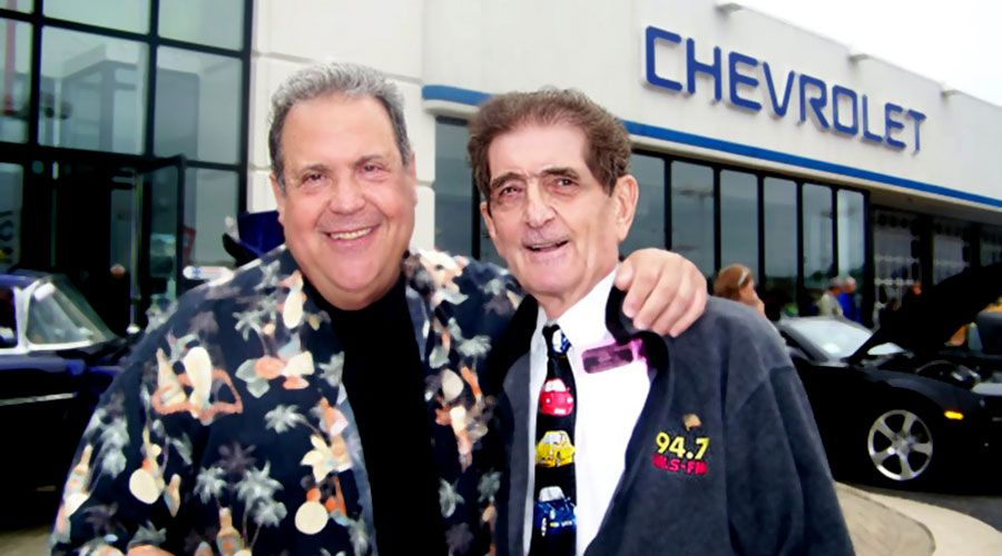 Ronnie Rice and Dick Biondi
