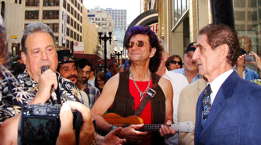 Ronnie Rice, Jim Peterik and Dick Biondi